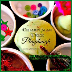 Messy Little Monster: Playdough Christmas Tree