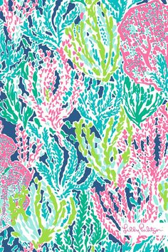 Lilly Pulitzer print :