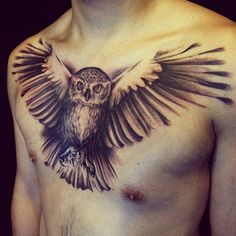 Owl ink (love the shading)