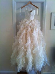 Beautiful Oscar de la Renta gown