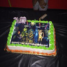 Five Nights at Freddy's Cake,  Five Nights at Freddy's Party Supplies,  Five Nights at Freddy's Edible Image