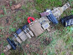 Red Crow Gear: Battle Belt (AKA, SHTF Light Fighter Gear): VTAC Brokos Belt, Emdom-MM CM Belt, FAST mags, Maxpedition dump pouch, ITS Tactical IFAK, SERPA Holster, and Night OPS Gladius.