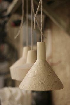 Natural wood furniture oak solid furniture lamp shade