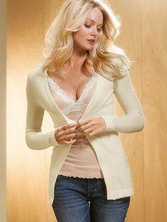 NEW! Angel BoucléCardigan Sweater #VictoriasSecret http://www.victoriassecret.com/clothing/cardigans-and-sweatercoats/angel-boucl-cardigan-sweater?ProductID=80705=OLS?cm_mmc=pinterest-_-product-_-x-_-x