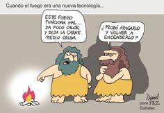 cuando el fuego era una tecnologia
