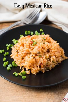 Easy Mexican Rice  giverecipe.com   #mexican #rice