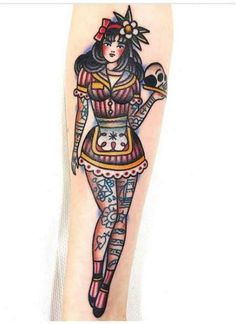 Tattoo Old School Mädchen Rockabilly Ink 48 Ideen – Old school tattoo – Tattoo old school girls rockabilly ink 48 ideas – old school tattoo – # girls … Pin Up Girl Tattoo, Pin Up Tattoos, Music Tattoos, Trendy Tattoos, Leg Tattoos, Body Art Tattoos, Girl Tattoos, Sleeve Tattoos, Tattoos For Women