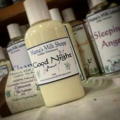 Check out this item in my Etsy shop https://www.etsy.com/listing/170644629/goat-milk-good-night-facial-cream