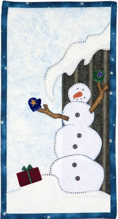 Original Design from Patch Abilities, Inc. MM15 Winter Whimsy Snowman