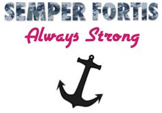 Navy, usn, us navy, navy love, navy girlfriend, navy Fiancee, navy wife, semper fortis, always strong, navy anchor, anchor, military, military graphics, milso, milso_graphix, milso graphics