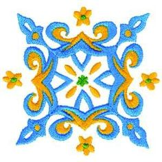 Free Embroidery Design: Motif