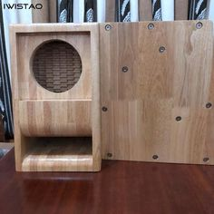 Hifi Speakers, Wooden Cabinets, Empty, Solid Wood, The Unit, Pure Products