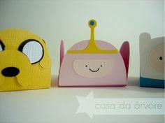 Adventure Time - forminhas para doces tema Hora de Aventura