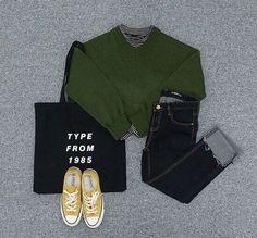 รูปภาพ clothes, korean fashion, and look