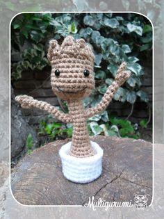 Baby Groot - Guardians of the Galaxy by Multigurumi.deviantart.com on @DeviantArt