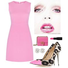 All EYES on the Heels by kotnourka on Polyvore featuring Diane Von Furstenberg, Giuseppe Zanotti, Gucci and Smashbox