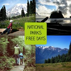 U.S. National Parks fee-free admission days in 2015