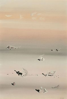Untitled (1938). - Yves Tanguy