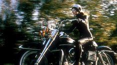 Naked lady on motorcycle saddle apologise, but