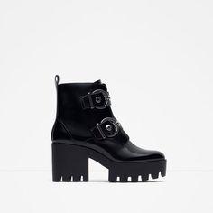 ea6e7ada172dd New Collection Online · Zara ShoesBlack Ankle BootiesZara ...