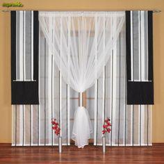 Dekoracje okien, firany, zasłony, aranżacje, galeria zdjęć, wystrój okien - inspireMe.pl - strona 3