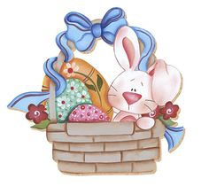 Easter Pictures, Cute Pictures, Hoppy Easter, Easter Bunny, Spring Painting, Paper Piecing Patterns, Beginner Painting, Easter Cookies, Pop Up Cards
