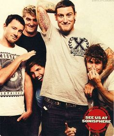 Parkway Drive--One of my all time favorite bands. In loove with them. All of them. And they have Australian accents. Swoon