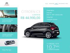 Screen - Web Site Citroën