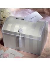 Wedding Reception White Chest Card Box - Reception Card Holders - Weddings - Categories - Party City