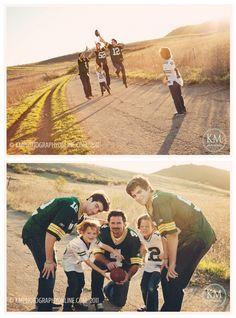KMphotography family football