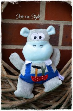 Lovely Hippo Handwerker