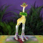 Janet Giraffe Ornament