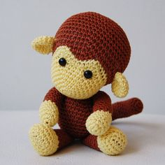 Amigurumi Pattern  Johnny the Monkey by pepika on Etsy, $5.00