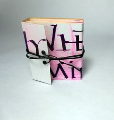 "Livro-objeto""Where is my mind"" 2014Authors:Book project: Gabriela IrigoyenCalligraphy: Cláudio Gil6,5 X 7,5 cm (closed)39,5 X 7,5 cm (open)"