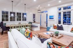 East Coast MeetsWest Coast With the design of our Project Balboa Showcasing, we wanted it to have more of a traditional Hamptons beach style vibe. East Co
