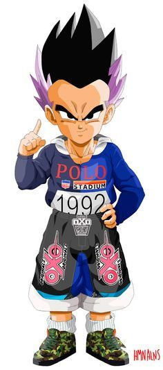 Akira Toriyama's famous manga and anime Dragon Ball Z gets a streetwear makeover. Human Aliens (HMN ALNS) has just put out a series of designs that features a few of our favourite Dragon Ball Z characters decked out in various items like some Air Jordan 5s, Supreme, Givenchy, Comme des Garcons, Nike, Original Fake and more.