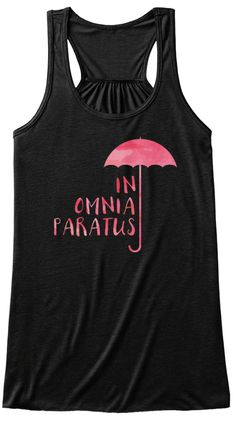 Gilmore Girls In Omnia Paratus Black Women's Tank Top Front
