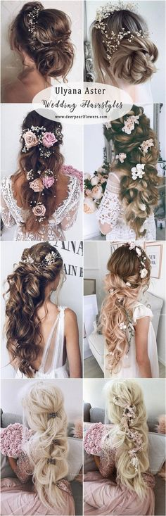 Ulyana Aster Long Wedding Hairstyles - http://www.deerpearlflowers.com/long-wedding-hairstyles-from-top-8-hairstylists/