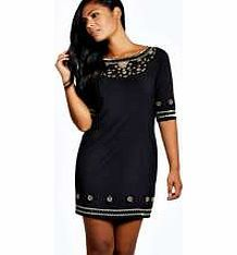 boohoo Ayah Heavily Embellished Shift Dresses - black Show your chic side in this intricately embellished shift dress - beadings the best way to wow with your eveningwear! Style it with strappy heels , an easy-to- wear envelope clutch and bold lip . http://www.comparestoreprices.co.uk/dresses/boohoo-ayah-heavily-embellished-shift-dresses--black.asp