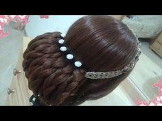 peinados recogidos faciles para cabello largo bonitos y rapidos con trenzas para…