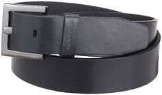 Calvin Klein Women's Jeans Belt,Black,Medium Calvin Klein. $30.00. Gunmetal Buckle. Logo embossed keeper. 100% Genuine Leather