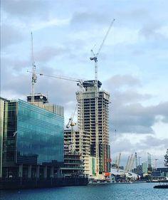 Reposting @londonredp: Wood Wharf -London Development . . #woodwharf #canarywharf #progress #london  #project #developer #property #home #invest #cityscape #skyline #redevelopment #propertiesforsale #londonproperty #londonrealestate #uk #page #follow #news #marketing #realestate #arhitecturelovers #design #regeneration #instagood #instahome #construction #building #newhomes