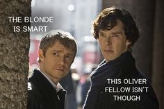 #Olicity omg! Sherlock and arrow..*swoon*