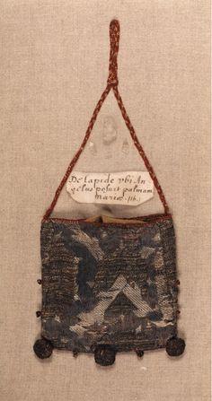 bourse-reliquaire, Italy, 15th c.