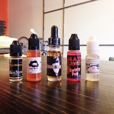Staffs pick of the week: Maja Blanca - Creamy Corn Abba Bomb - Sweet Taro Pudding Suit and Tie - Butterscotch Tobacco Swirly Pop - Tart Pineapple Fruits  Nutty Monkey Brains - Peanut  Butter banana sandwich  Come by try em out! #Padgram