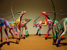 alebrijes - I just love everything about them, the history, the technique, the colors