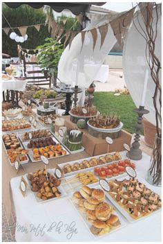 New party food bar ideas beautiful Ideas Party Food Platters, Food Stations, Drink Stations, Retirement Parties, Grad Parties, Party Buffet, Festa Party, Brunch Party, Wedding Catering