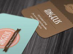 Dribbble - Angelis - Business Card by Ney Ricardo