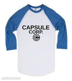 Capsule Corp | Worn by Trunks himself. #Skreened