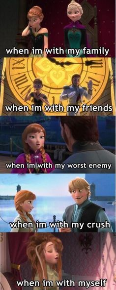 I have 5 personalities